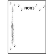 Notepad - Flute & Notes