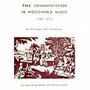 Free Ornamentation in Woodwind Music 1700-1775
