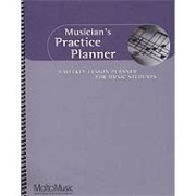 Musician's Practice Planner: A weekly lesson planner for music students