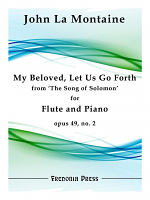 La Montaine, J :: My Beloved Let Us Go Forth op. 49 No. 2