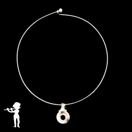 Necklace - Limited Edition Open Hole Key on Wire