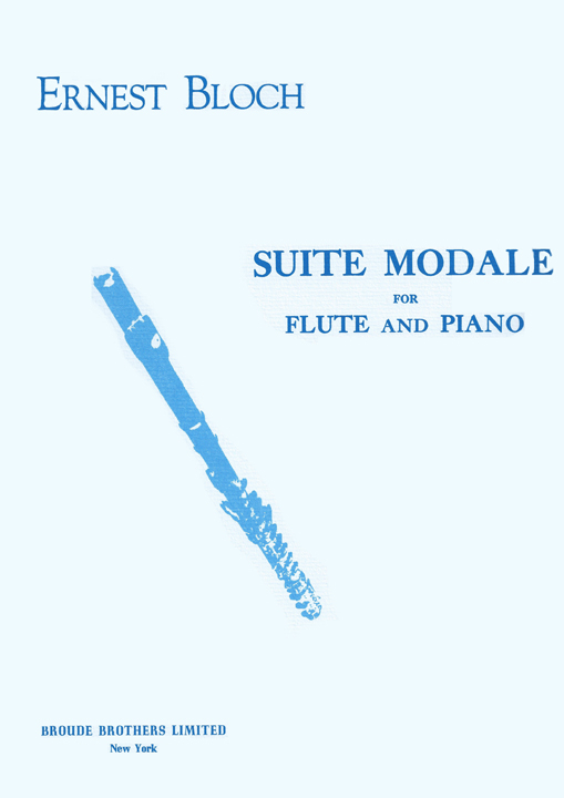 Bloch, E :: Suite Modale