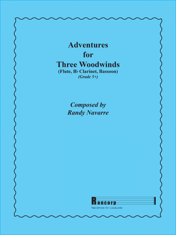 Navarre, R :: Adventures for Three Woodwinds