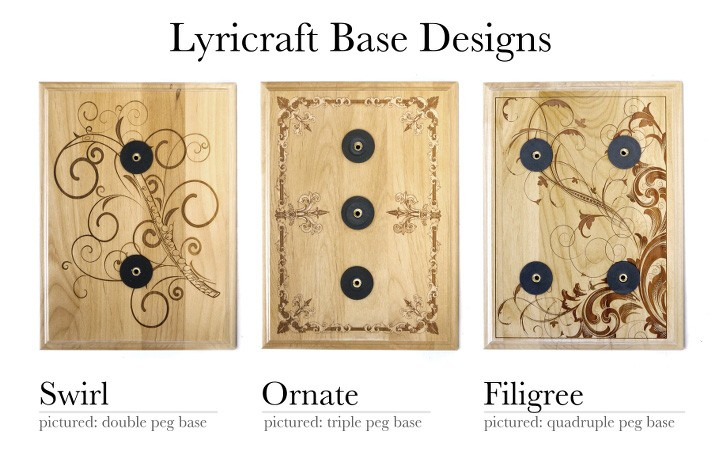 Lyricraft Base Designs