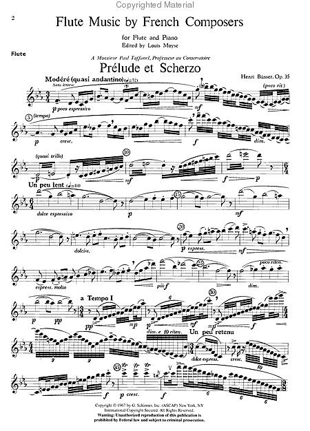 Various :: Flute Music by French Composers