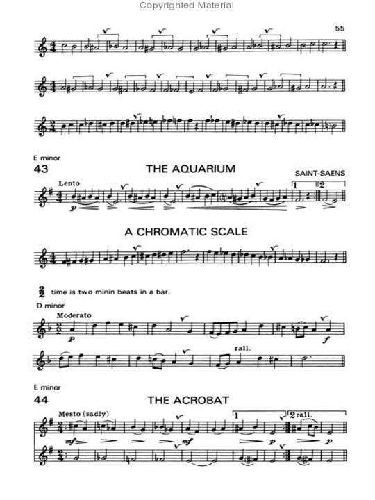 Beginner's Book for the Flute Part Two