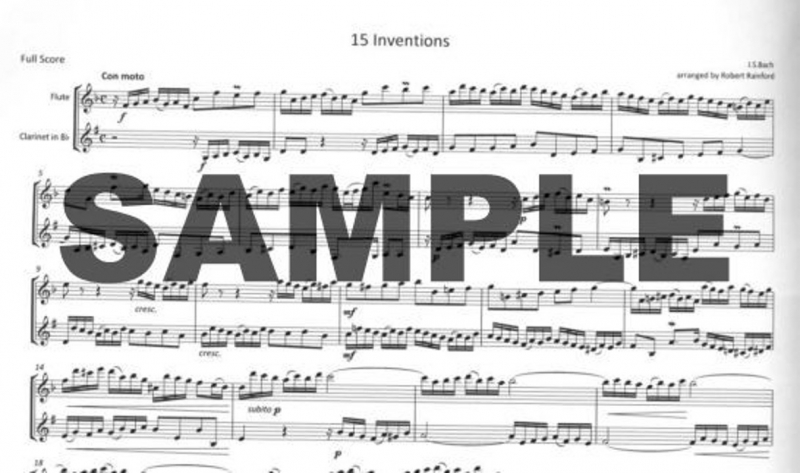 Bach, JS :: 15 Inventions