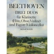 Beethoven, L :: Drei Duos [Three Duos]