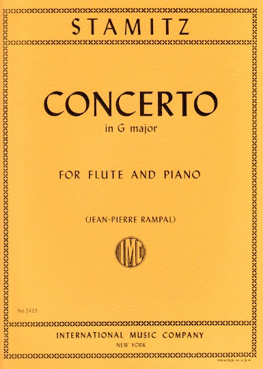 Stamitz, C :: Concerto in G major op. 29