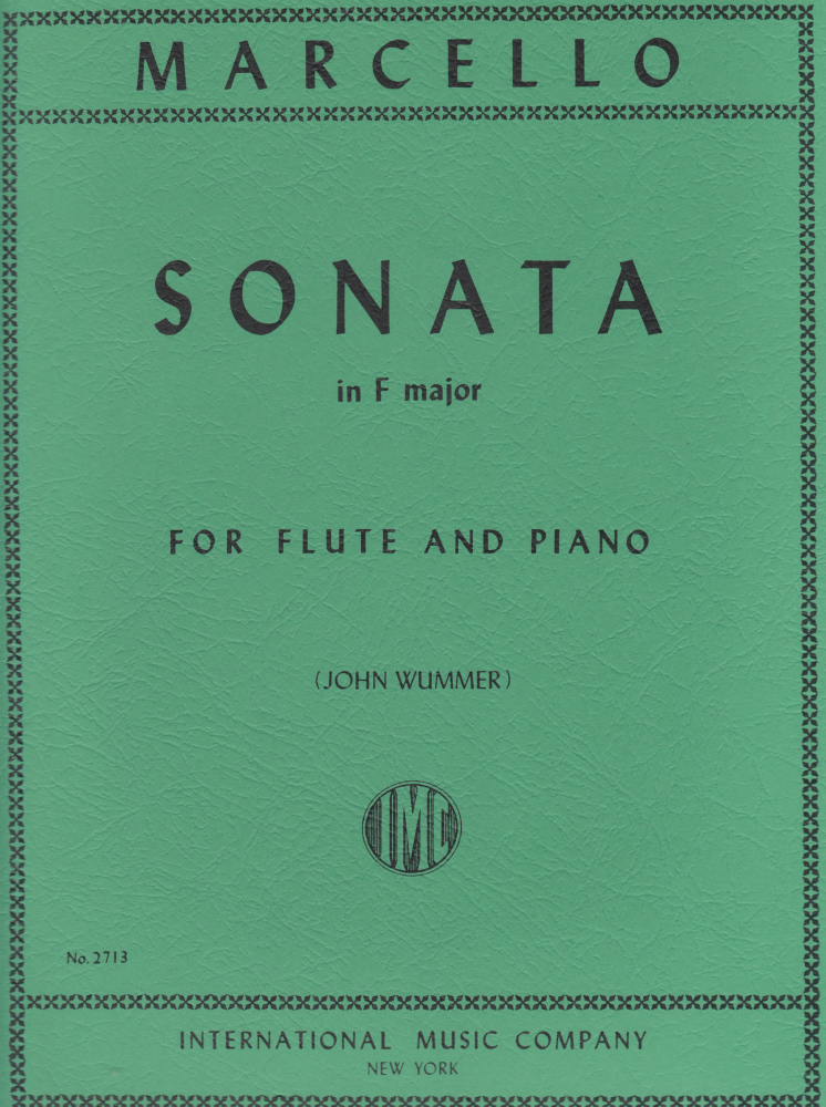 Marcello, B :: Sonata in F Major