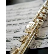 Note Cards - Gold Flute