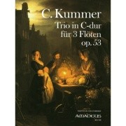 Kummer, C :: Trio in C-dur op. 53 [Trio in C major op. 3]