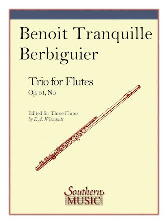 Berbiguier, BT :: Trio for Flutes Op. 51, No. 3