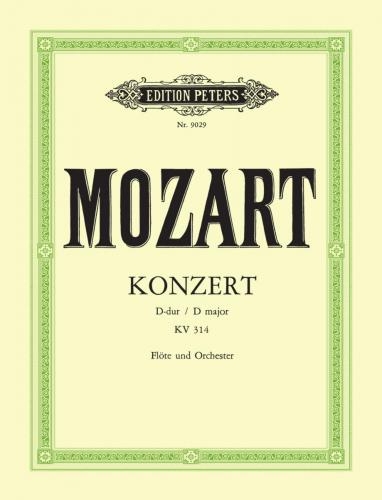 Mozart, WA :: Konzert D-Dur [Concerto in D Major] KV 314