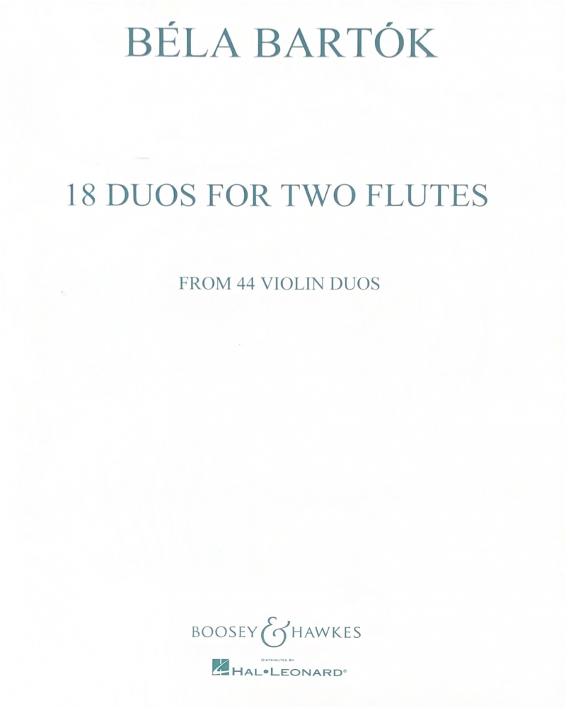 Bartok, B :: 18 Duos for Two Flutes