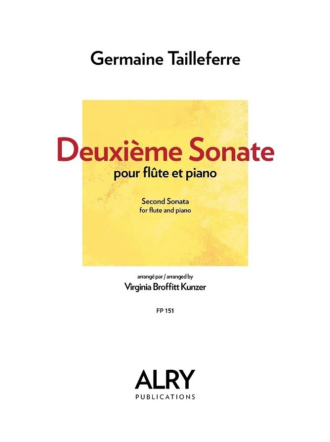 Tailleferre, G :: Deuxieme Sonate [Second Sonata]